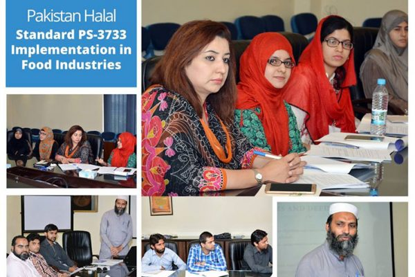 "Technical Workshop on ""Pakistan Halal Standard Implementation in Food Industries"" at UMT-Lahore"