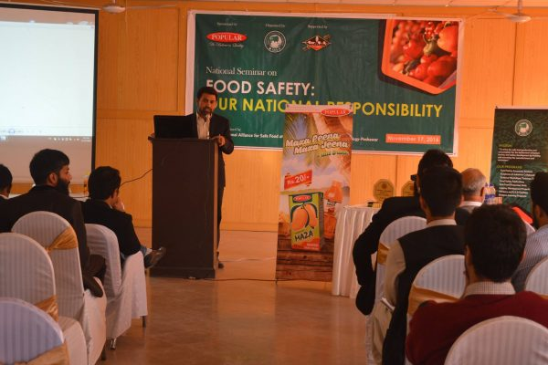 Food Safety Our National Responsibility