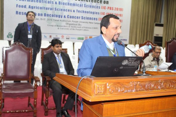 International Conference on Food Agricultural Sciences & Technologies (IC-FAST 2019) in Lahore