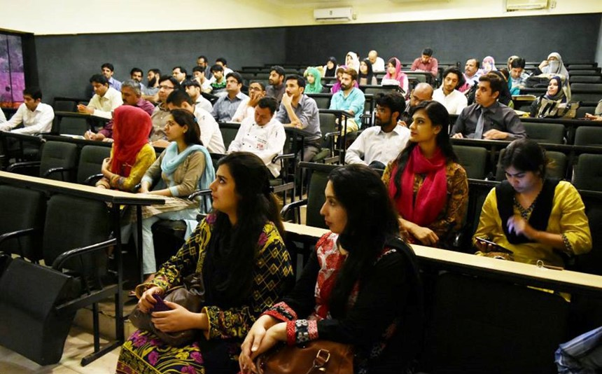 Technical Workshop for Food Handlerat University of South Asia Lahore(April 07,2016)