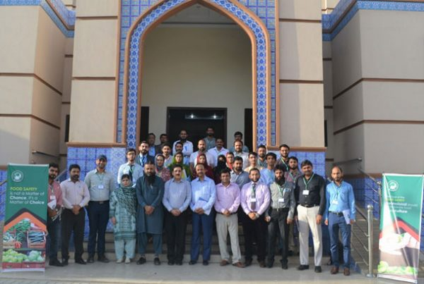 """One Day training Session on """"Emerging Standards for Sustainable Food Business"""""""