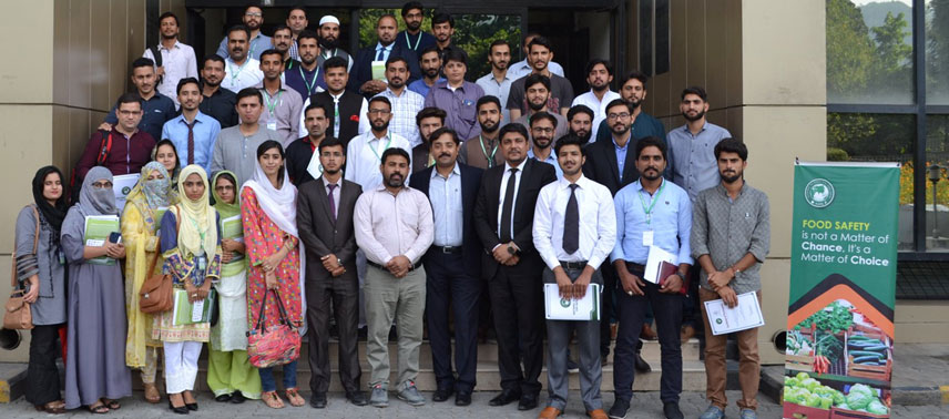 "One Day training Session on ""Emerging Standards for Sustainable Food Business"" HACCP-VACCP-TACCP in Islamabad"