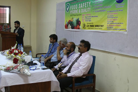 Training Session on Food Safety, Hygiene & Quality at COMSATS Sahiwal