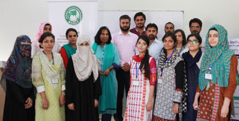 Training Session on GMP in Food Industries