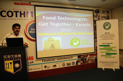 Food Technologists Get Together at COTHM Karachi
