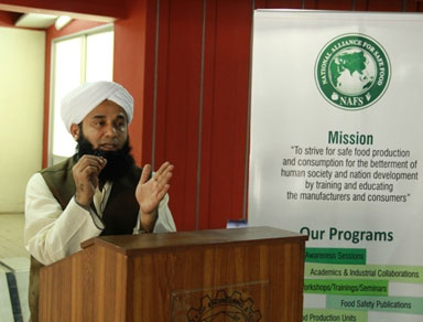 "Awareness Session on ""Halal Foods"" at NED University"