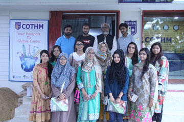 "Professional Training on ""Auditing Principles & Practices"" at COTHM KARACHI 22 July 2017"