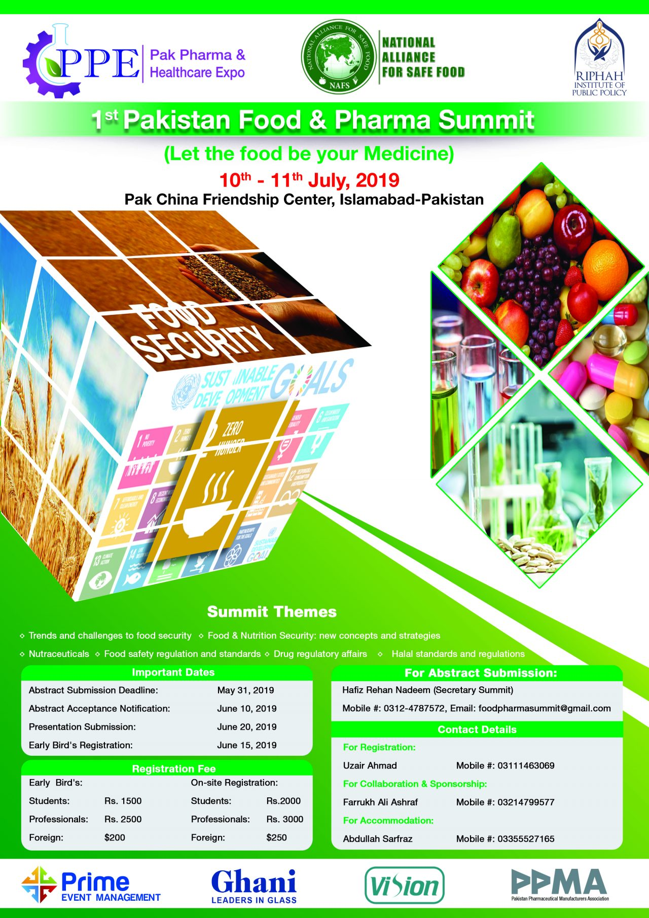 PAKISTAN FOOD & PHARMA SUMMIT Conference