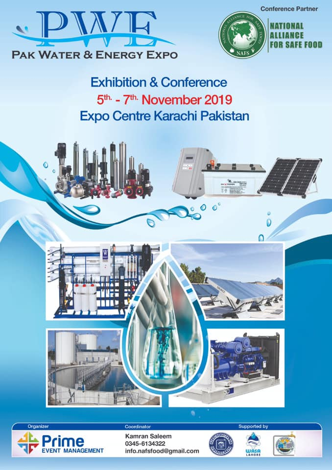 Pak Water Conference 2019 in Conjunction with Pak Water & Energy Expo
